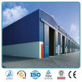 La estructura de acero de construcción de metal prefabricadas