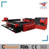 500W / 1000W máquina automática de corte de laser de chapa plana de fibra de tecido (TQL-MFC500-3015)