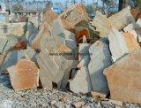 フロアーリングのための自然な石造りベージュスレートのタイル