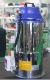 Carregador do funil da fase monofásica com sistema da limpeza do saco de filtro