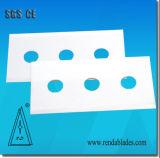 lamierina di taglio industriale di ceramica 3-Holes per il taglio della pellicola