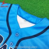 中国の完全な昇華ロゴによってカスタマイズされる野球ジャージー