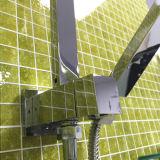 워터마크 크롬은 놓인 정연한 모양 샤워 8 인치 도금했다 (12B-602)