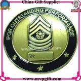 Ha annunciato la moneta del metallo con il marchio 3D