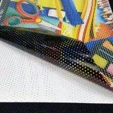 Vinilo perforado de la visión unidireccional auta-adhesivo suprema en Rolls