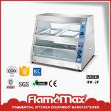 Affichage d'aliments plus chaude / Vitrine de pain avec la CE a approuvé (HW-400)