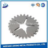 Acier fait sur commande de fabrication en métal estampant la partie de dépliement avec le placage de zinc