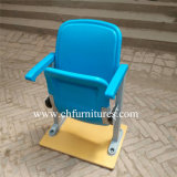 Outdoor Cheap Armrest Blue and Red Folding camera Plastic Stadium Flesh for Church and Theater (YC-ZG68)