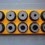 O molde livre bifurcou-se máquina de friso da mangueira dos dados da cauda