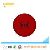 Protection de température standard de la FCC chargeur portable sans fil en caoutchouc Pad