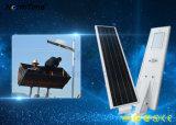 40W赤外線動きセンサースマートなLEDの太陽電池パネルの街灯