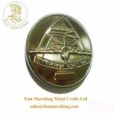 De goedkope Replica van het Muntstuk van het Afgietsel van de Matrijs van het Embleem van het Blik van de Douane Herdenkings Zilveren