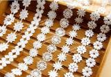 003 100% Baumwolqualitäts-Stickerei-Spitze
