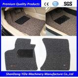 El doble de PVC de color y monocromo rociaron el rollo de alambre coche alfombras de pie