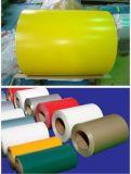 Feuille d'aluminium de couleur de PE/en aluminium enduite pour la décoration
