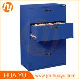 Meuble d'archivage en acier de mémoire de couleurs de tiroirs personnalisables du bureau 4