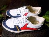 人および女性のための高品質の偶然のキャンバスのゴム製靴