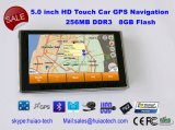 "5.0 ""Navigation GPS GPS avec Contex A7 800MHz CPU 8 Go Flash"