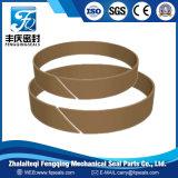 Resina fenólica com fitas de reforço do anel guia de tecido