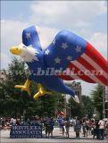 Publicidad Decoración de Promoción de la impresión de gran águila de helio, juguetes Globo de helio partido