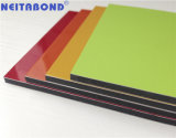 Material compuesto de aluminio de calidad para la decoración de señalización de la partición