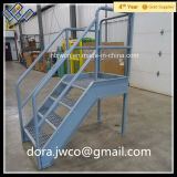 Heißes DIP Galvanized Stair Step Metal mit Nosing Direct Factory