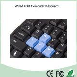 Qwerty связанная проволокой клавиатура USB (KB-1688)