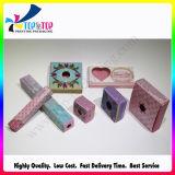 Empaquetado plegable de encargo del lápiz labial del papel revestido de la impresión de la alta calidad