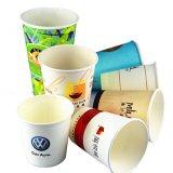 熱湯のコップの/Disposableの安いコップの使い捨て可能な紙コップ