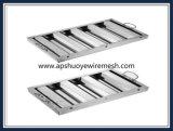Filtro lavable reutilizable de acero inoxidable de malla de aluminio Grasa
