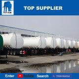 タイタンの鋼鉄はトレーラー66000リットルの道のディーゼル燃料タンクオイルタンクのトレーラーの寸法を測る