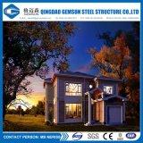Villa en acier légère préfabriquée de modèle moderne