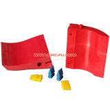 Custom полиуретан снега плугом резиновый валик ножи / уретановый щеток очистителя ветрового стекла