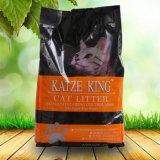 Geruch-Steuerung und Aufhäufung Bentonit-der aktiven Kohlenstoff-Katze-Sänfte