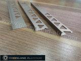 Champagne Color를 가진 알루미늄 Profiles L Shape Tile Edge Trim