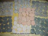 Розовый мраморными плитками пол Дизайн плитки