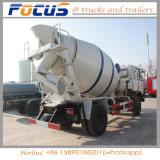 Caminhão de tanque de mistura concreto especial do veículo 6X4 9 Cbm