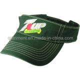 Coton sergé populaire Parcours de Golf de loisirs de broderie sur Clip-Visor (TMV8922-1)