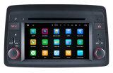 "7 "" androide Telefon-Anschlüsse des Blendschutzpanda-androide Auto-DVD Pkayer Carplay für FIAT"