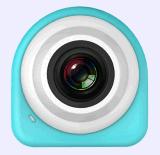 1080P étanche Compact Stick et Shoot WiFi Selfie Camera