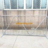 Frontière de sécurité galvanisée en métal pour la ferme
