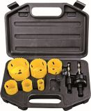 Bi-Metal Holesaw Set Titanium-Coated Hole Saw OEM Outils à main Bricolage