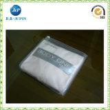 Bolso plástico claro no tóxico del PVC de la cremallera (JP-plastic024)