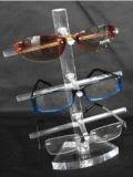 De muur zette de AcrylVertoning van het Oogglas van de Zonnebril op
