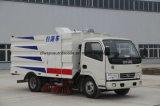 Dongfeng 6 Was van de Weg van de Veger van het Stof van Wielen de Kleine 5m3 en Schone Vrachtwagen