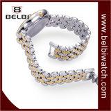 Vigilanza impermeabile della vigilanza di Belbi di alto modo della vigilanza delle donne di modo di svago della superficie ovale d'acciaio della prugna