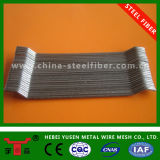 Aço da fibra