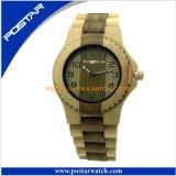 Montre-bracelet faite sur commande de logo de modèle la plus neuve de la montre du bois de mode