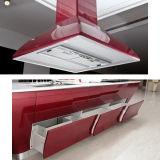 Keukenkast van de Lak van Oppein van de Fabrikant van Guangzhou de Slimme Rode (OP12-L062)