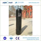 El tanque de FRP con el distribuidor del agua y el aislante de tubo interno para el sistema de la purificación